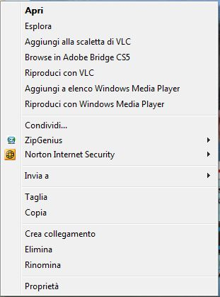 zippare con la windows