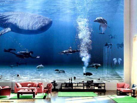 salotto o acquario?