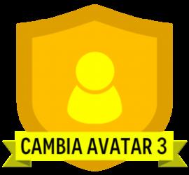 cambia avatar 3
