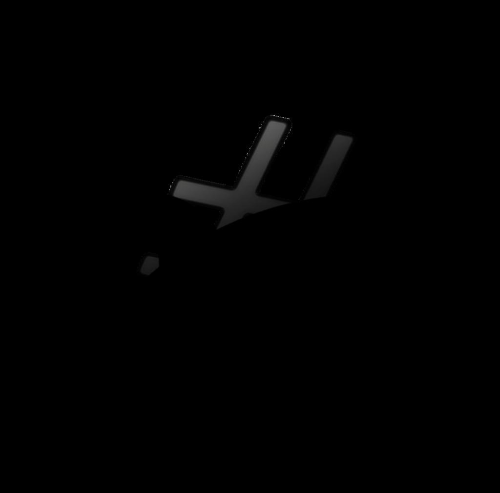 provate a tenere premuto con il mouse sull'immagine per 1 secondo e poi spostare il mouse senza rilasciare il click:  posizionate l'immagine sopra a un'altra e vedrete che non ci sono bordi bianchi attorno all' # e alla @.