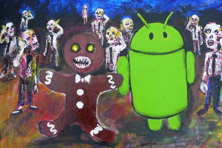 potete trovarla su android gingerbread